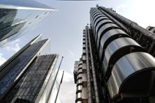 Hochhäuser in der City of London