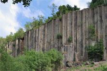 Basaltsäulen am Scheibenberg