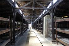 Baracke im KZ Auschwitz-Birkenau