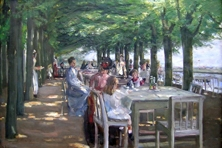 Restaurant Jacob, Max Liebermann