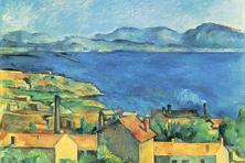 Bucht von Marseille, Cézanne