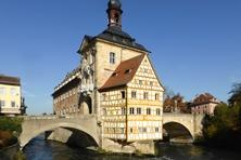 Historisches Rathaus in Bamberg