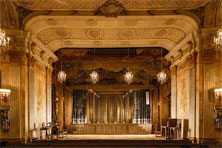 Bühne im Schlosstheater