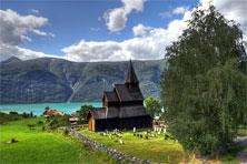 Stabkirche in Urnes
