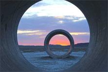 Sun Tunnels von Nancy Holt