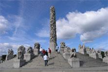 Monolith im Vigeland Park, Oslo