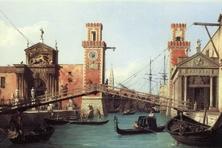 Eingang zum Arsenal, Canaletto