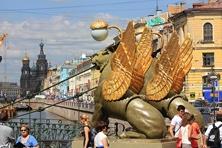 Gribojedow-Kanal St. Petersburg